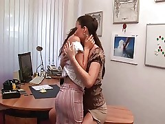 Office-xxx videos - heiße Lesben xxx